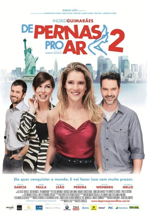De Pernas pro Ar 2 : poster
