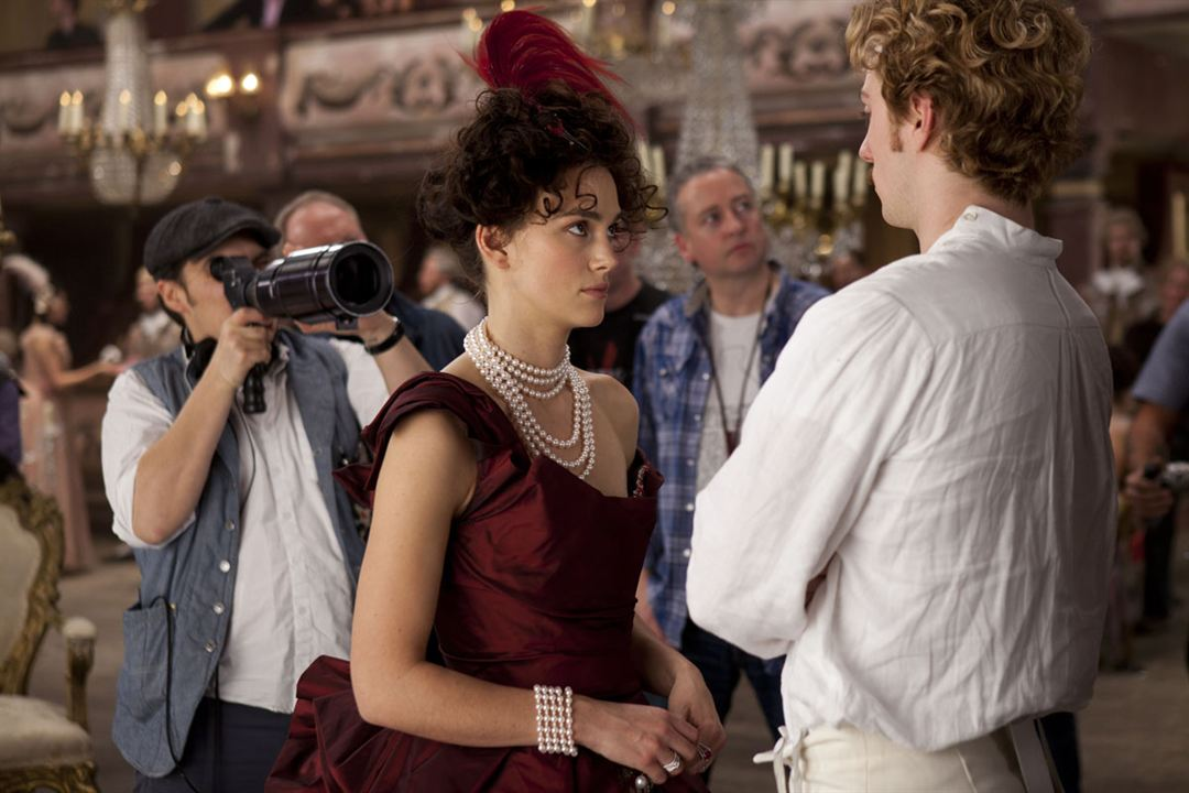 Anna Karenina : Foto Aaron Taylor-Johnson, Joe Wright, Keira Knightley