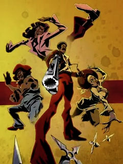 Black Dynamite: The Animated Series : Poster