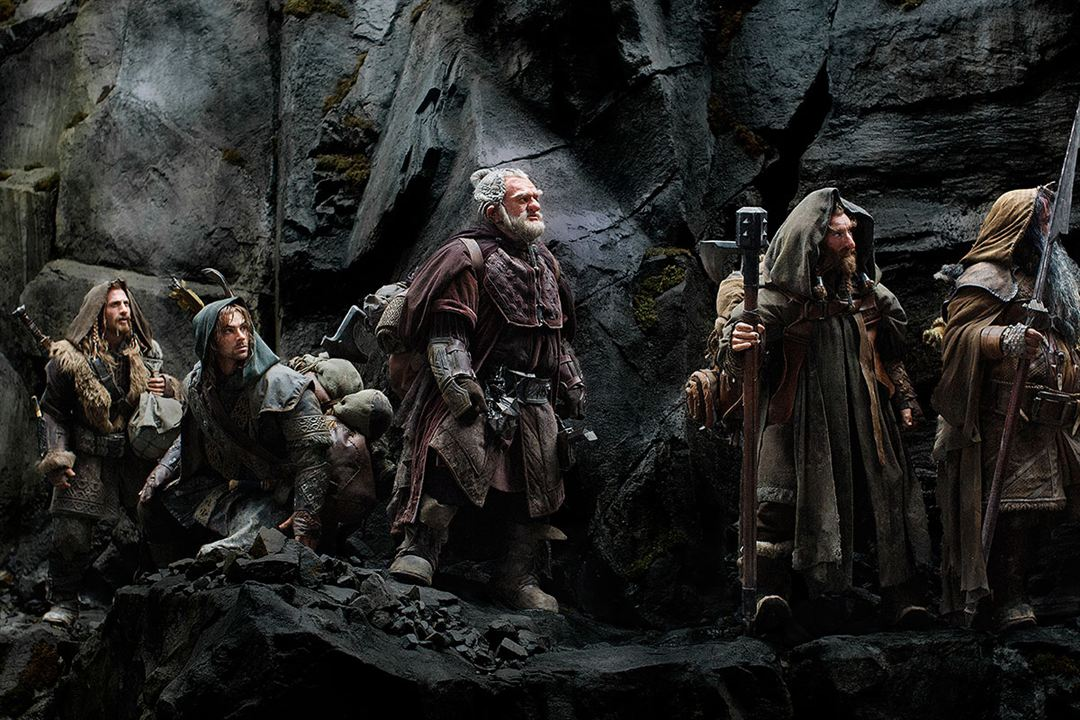 O Hobbit: Uma Jornada Inesperada : Foto Aidan Turner, Dean O'Gorman, Jed Brophy, Mark Hadlow, William Kircher