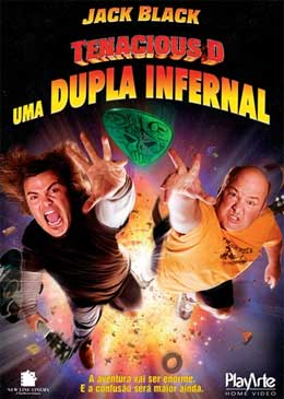 Tenacious D - Uma Dupla Infernal : Poster