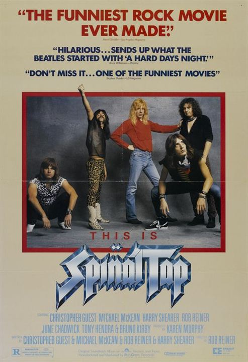 Isto É Spinal Tap : Poster