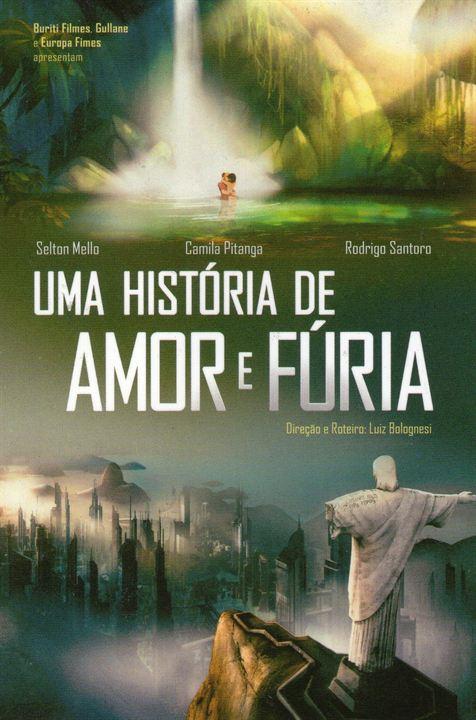 Uma História de Amor e Fúria : Poster