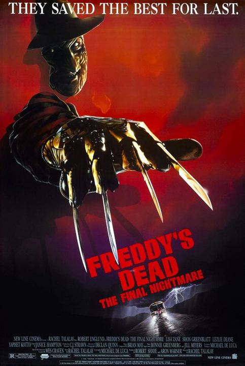 A Hora do Pesadelo 6 - Pesadelo Final - A Morte de Freddy : Poster