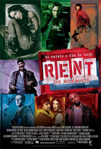 Rent - Os Boêmios : Poster