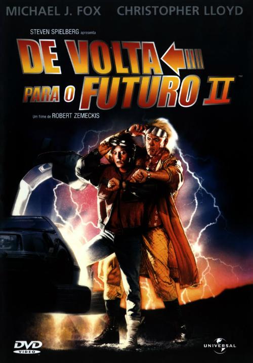 De Volta Para o Futuro 2 : Poster