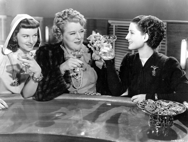 The Women : Photo Mary Boland, Norma Shearer, Paulette Goddard
