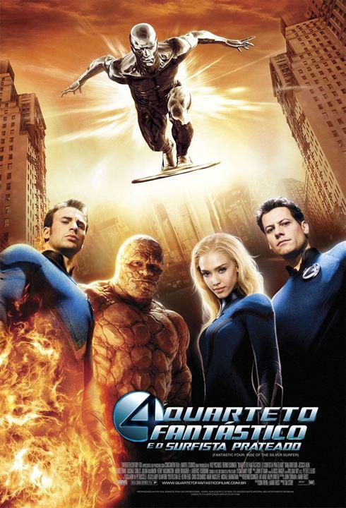 Quarteto Fantástico e o Surfista Prateado : Poster