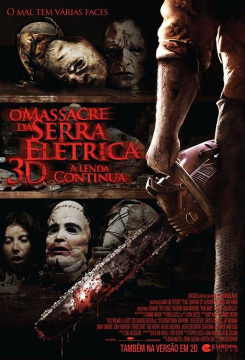 O Massacre da Serra Elétrica 3D - A Lenda Continua : Poster