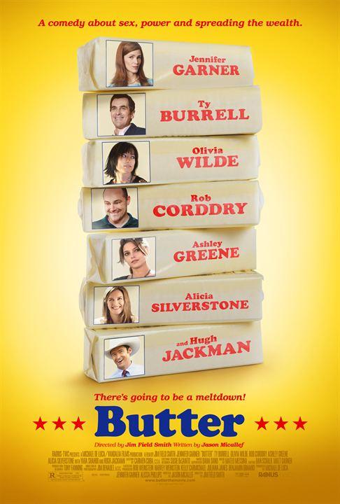 Butter: Deslizando na Trapaça : Poster