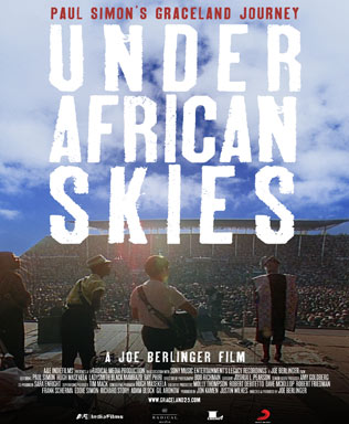 Paul Simon - Under African Skies : poster