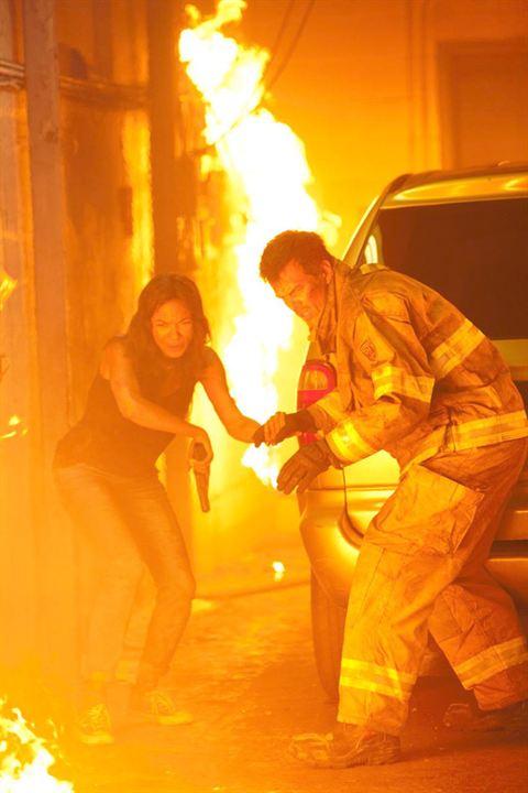 Fogo Contra Fogo : Foto Josh Duhamel, Rosario Dawson