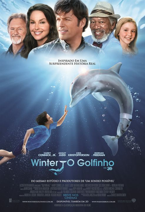 Winter, o Golfinho : Poster