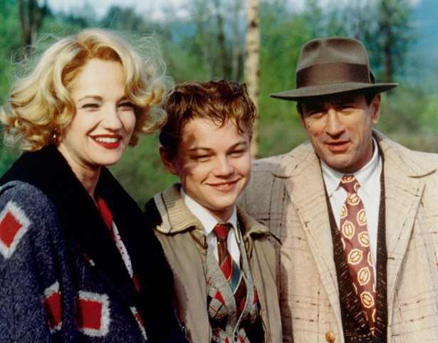 O Despertar de um Homem : Foto Ellen Barkin, Leonardo DiCaprio, Robert De Niro