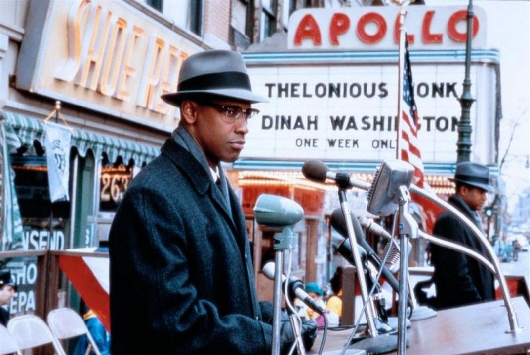 Malcolm X : Foto Denzel Washington