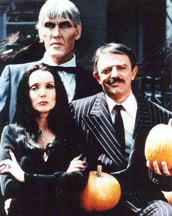 The Addams Family : Foto Carolyn Jones, John Astin, Ted Cassidy