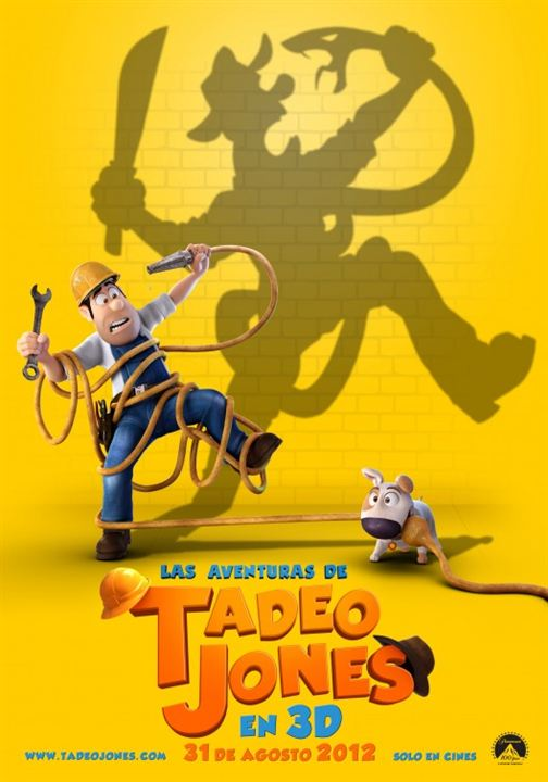 As Aventuras de Tadeo : Poster