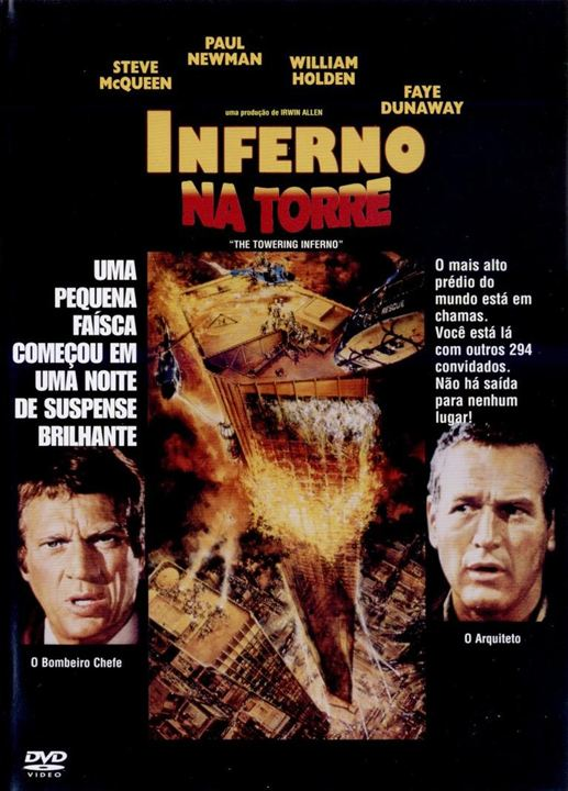 Inferno na Torre : Poster