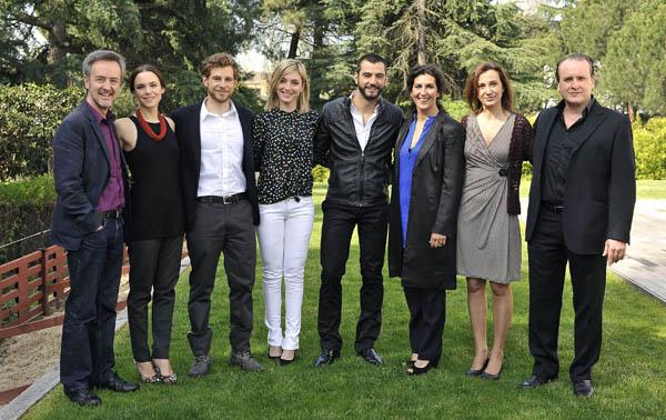 Foto Álvaro Cervantes, Antonio Velázquez, Aura Garrido, Carlos Hipolito, Elvira Minguez