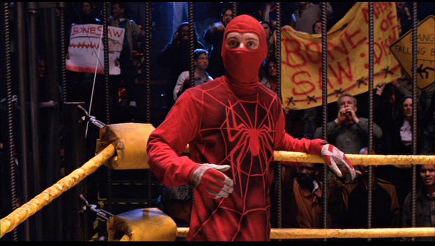 Homem-Aranha (2002) - Variante de luta livre