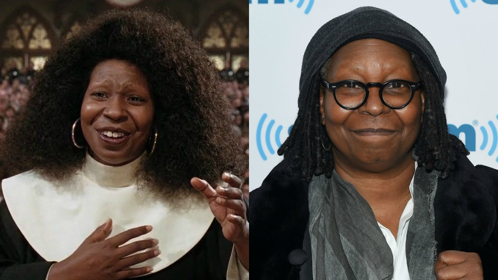 Whoopi Goldberg (Deloris Van Cartier / Irmã Mary Clarence)