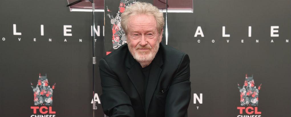 Ridley Scott - designer de produção