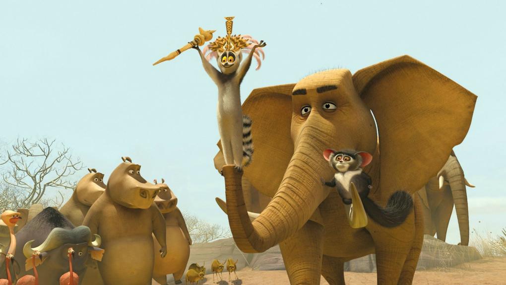 Madagascar 2 (15h05 - Globo)