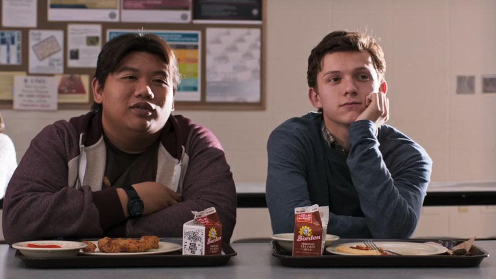 7. Peter Parker e Ned