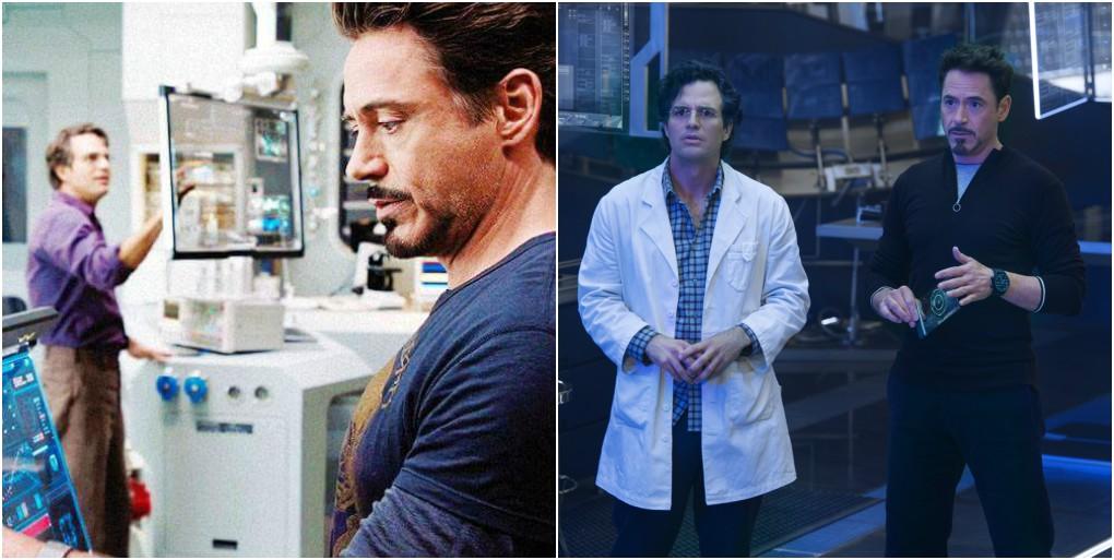 03. Tony Stark e Bruce Banner