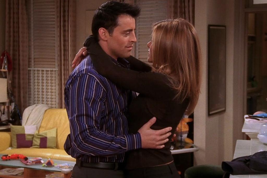 Friends - Joey (Matt LeBlanc) e Rachel (Jennifer Aniston)