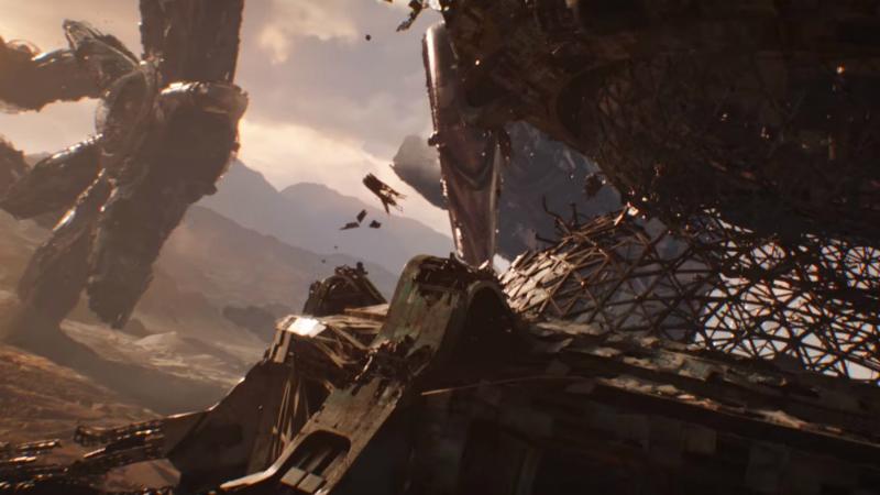 A chegada em Titã