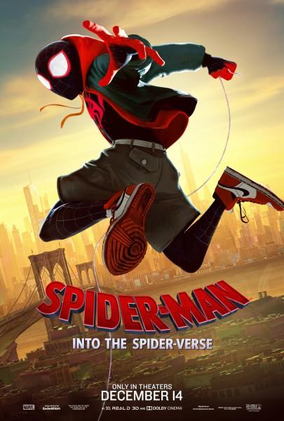 Resultado de imagem para homem-aranha no aranhaverso cartaz