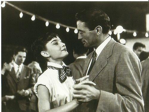 A Princesa e o Plebeu: Gregory Peck, Audrey Hepburn