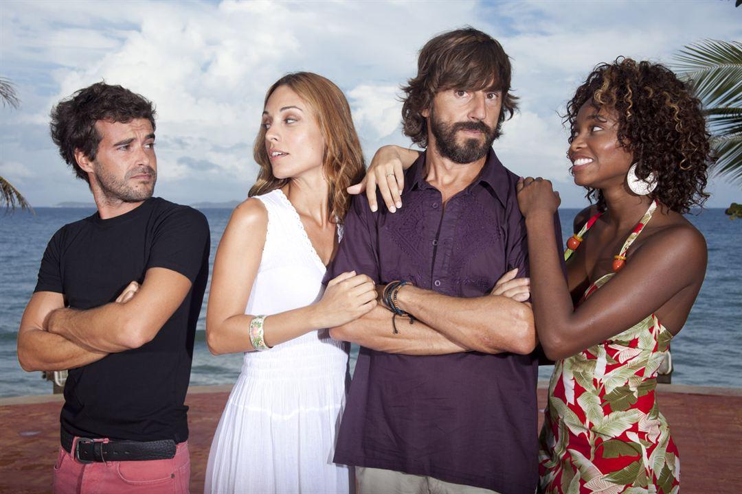 Sólo para dos : Photo María Nella Sinisterra, Martina Gusman, Nicolás Cabré, Santi Millán