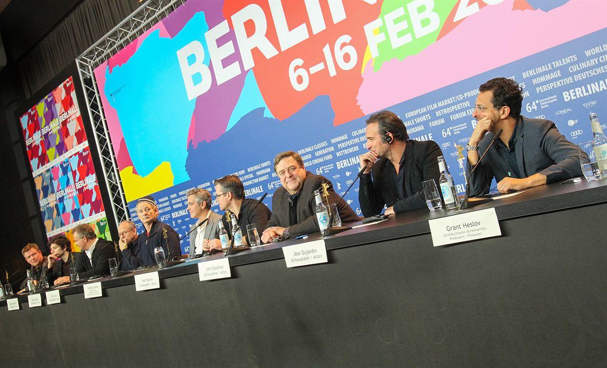Caçadores de Obras-Primas : Vignette (magazine) Bill Murray, Bob Balaban, Dimitri Leonidas, George Clooney, Grant Heslov