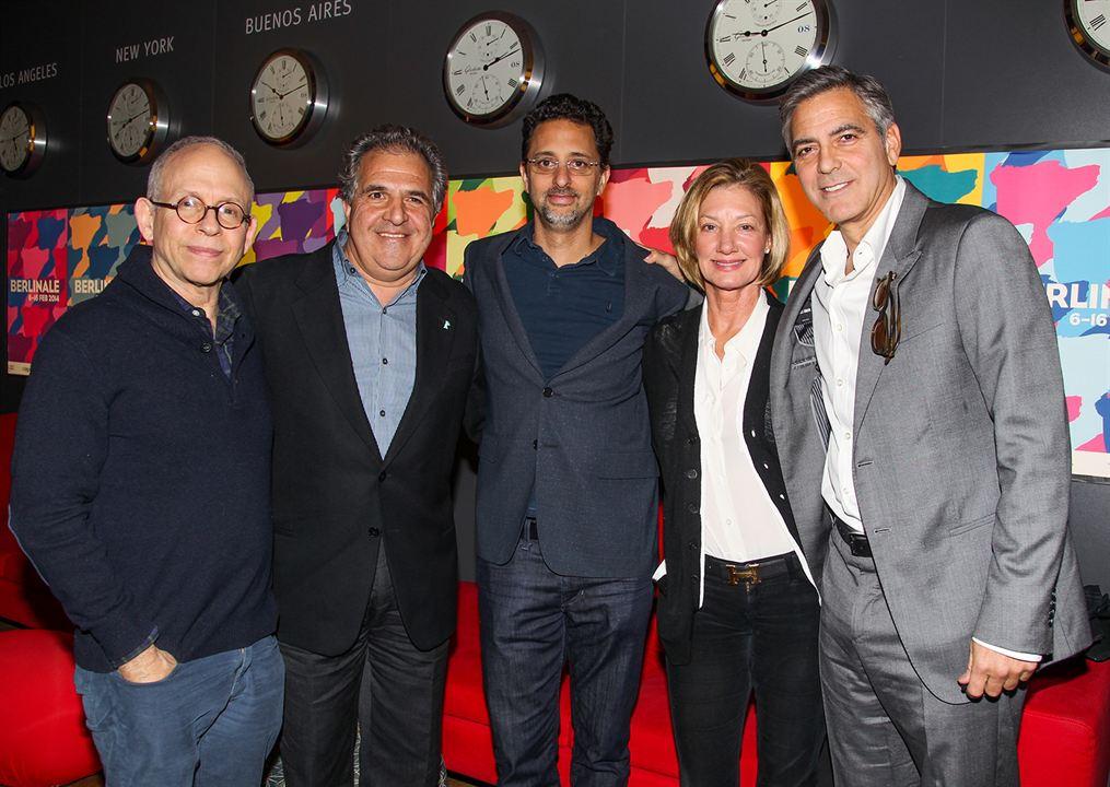 Caçadores de Obras-Primas : Vignette (magazine) Bob Balaban, George Clooney, Grant Heslov