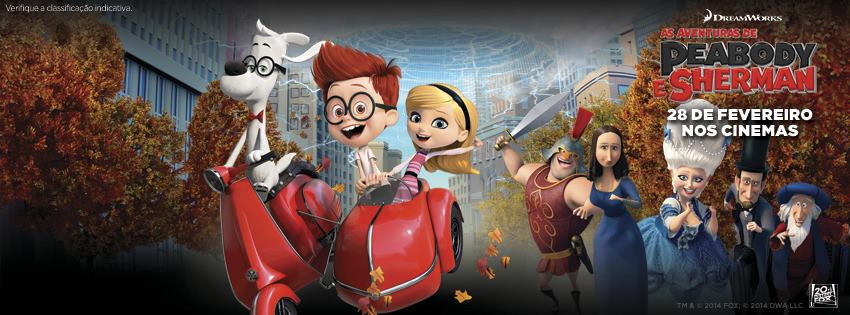 As Aventuras de Peabody & Sherman : Vignette (magazine)