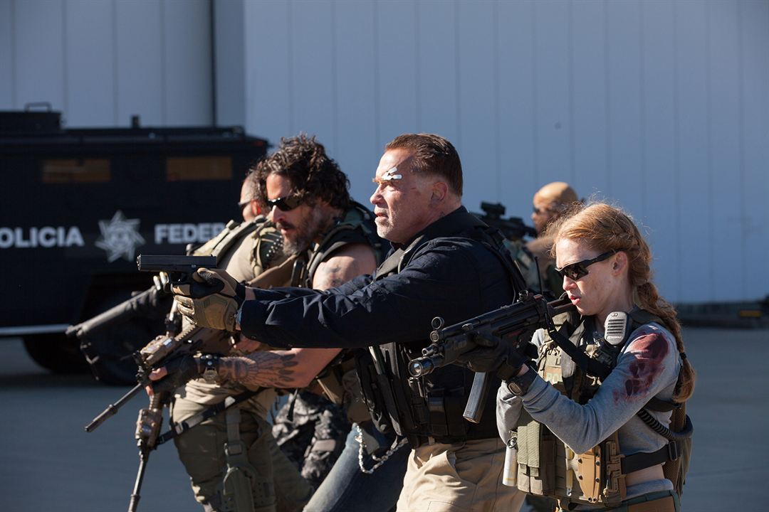 Sabotage : Foto Arnold Schwarzenegger, Joe Manganiello, Mireille Enos