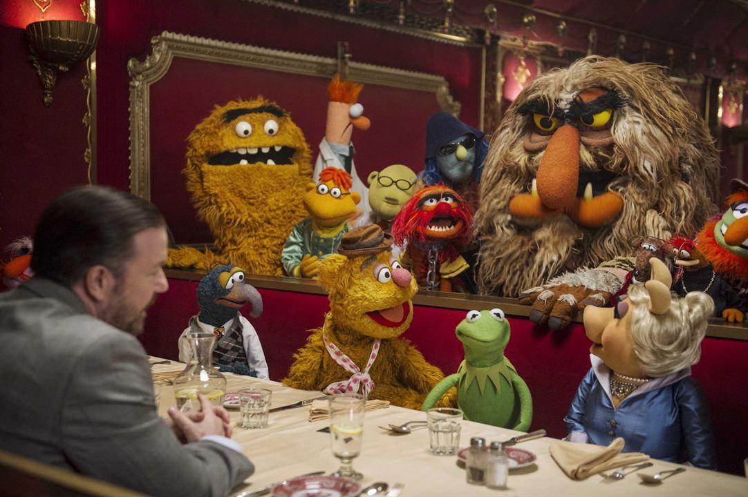 Muppets 2 - Procurados e Amados : Foto Ricky Gervais