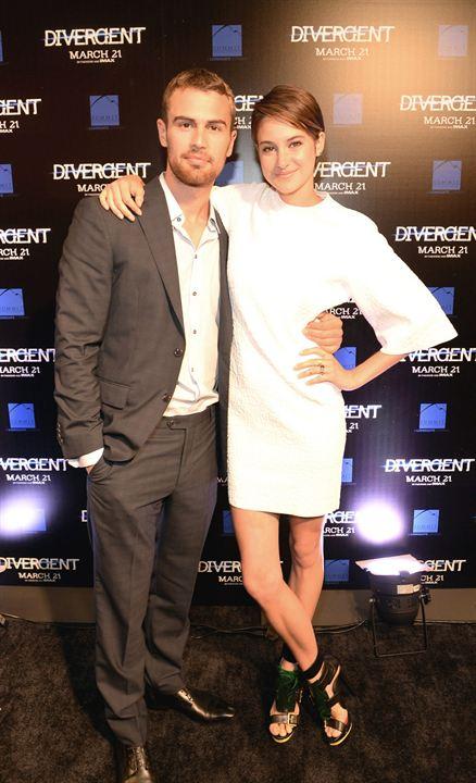 Divergente : Vignette (magazine) Shailene Woodley, Theo James