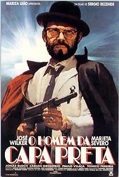 O Homem da Capa Preta : Poster