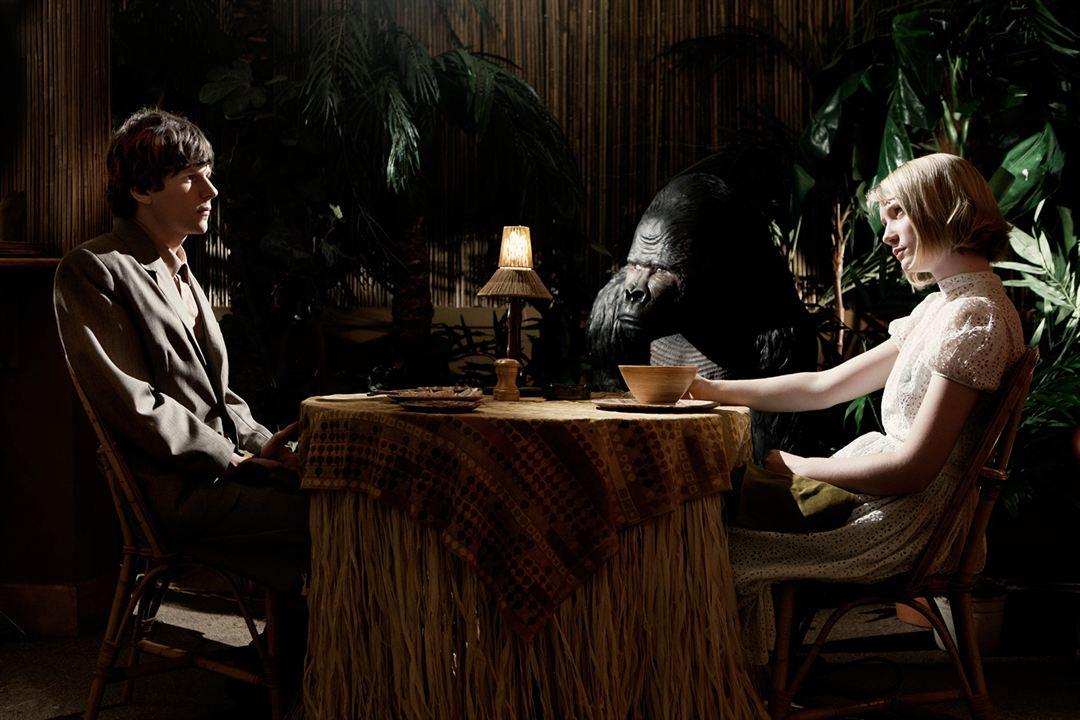 O Duplo : Foto Jesse Eisenberg, Mia Wasikowska