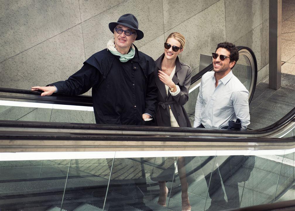 Foto Elyas M'Barek, Rosie Huntington-Whiteley, Wim Wenders