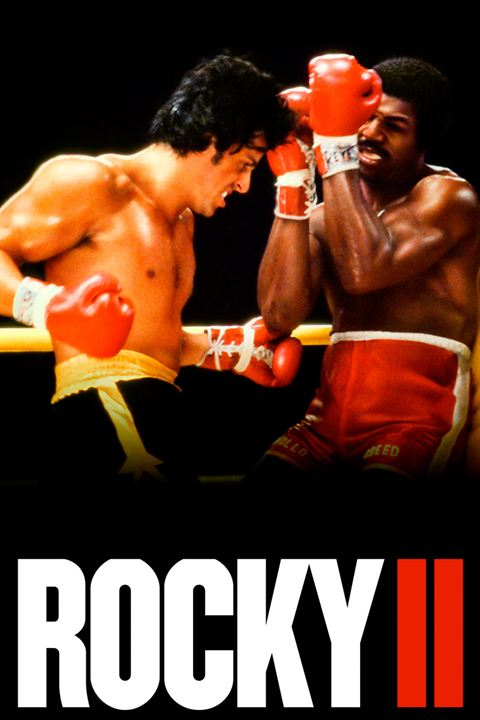 Rocky 2 - A Revanche : Poster