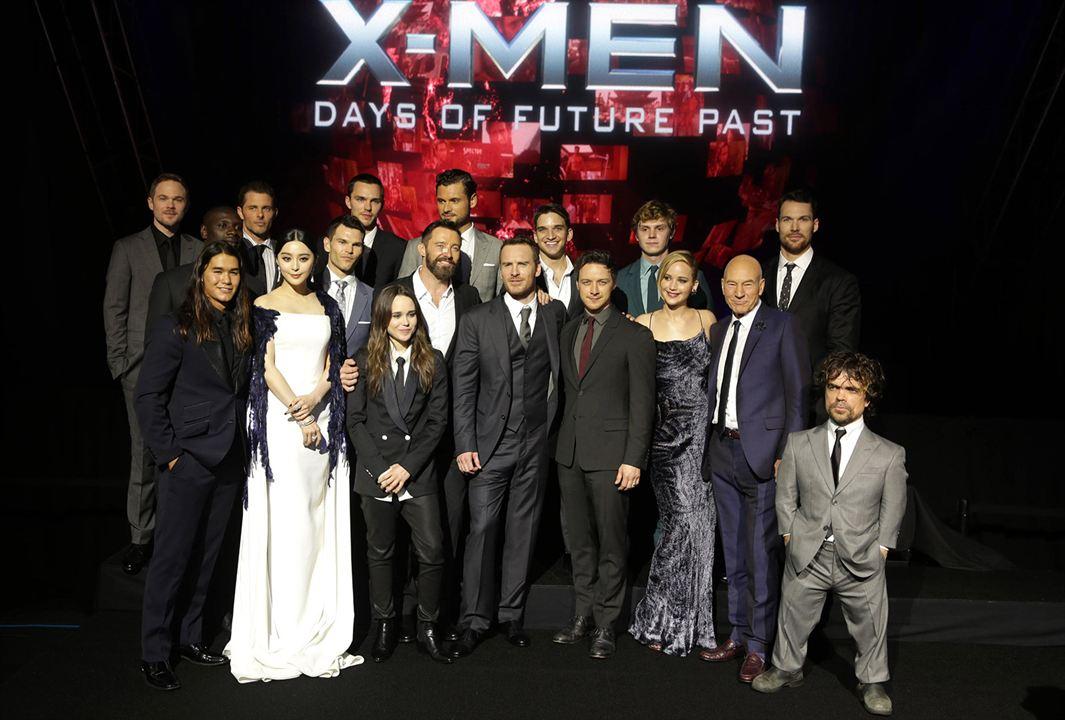 X-Men: Dias de um Futuro Esquecido : Vignette (magazine) Adan Canto, Booboo Stewart, Daniel Cudmore, Ellen Page, Evan Jonigkeit