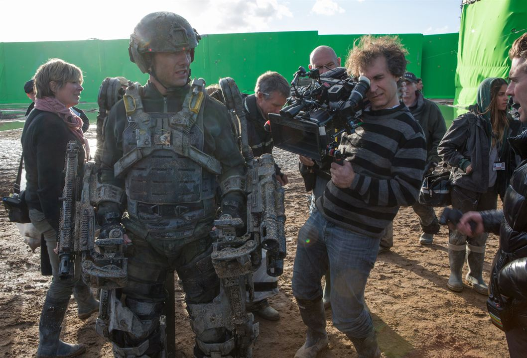 No Limite do Amanhã : Foto Doug Liman, Tom Cruise