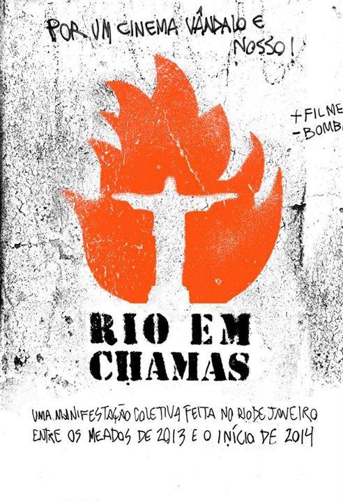 Rio em Chamas : Poster
