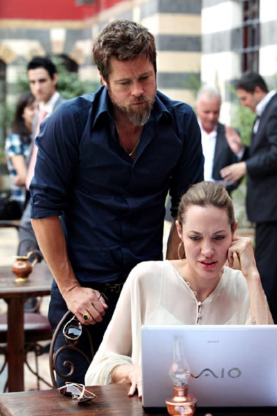 Foto Angelina Jolie, Brad Pitt