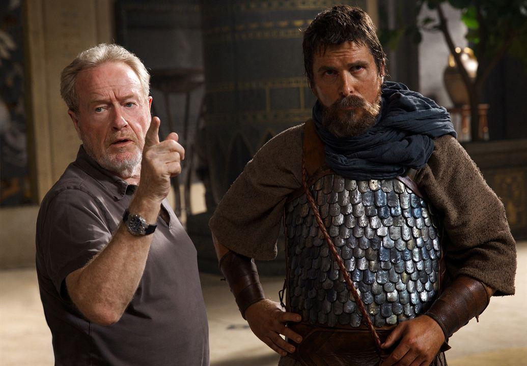 Êxodo: Deuses e Reis : Foto Christian Bale, Ridley Scott