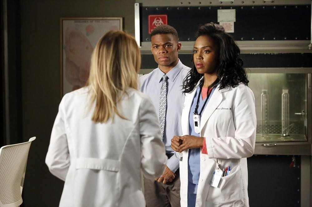 Foto Ellen Pompeo, Jerrika Hinton, Paul James